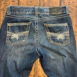Men's Rock 47 Denim Wrangler jeans: bootcut